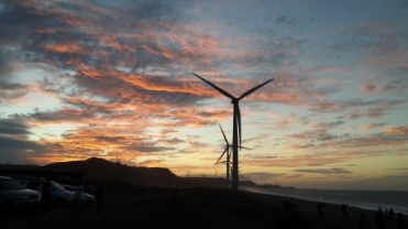 BANGUI WINDMILLS- SUNSET